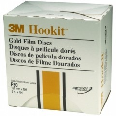 3M - 00959 - Hookit Gold Film Disc 255L, 5 inch x NH P320