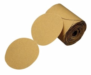 3M - 01421 - Stikit Gold Paper Disc Roll, 216U, 5 in x NH Die# 500X P280 A-weight