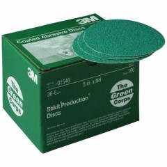 3M - 01546 - Green Corps Stikit Production Disc, 01546, 5 inch, 36E