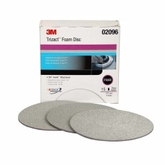3M - 02096 - Trizact Foam Disc 3000 Hookit 5 in, 15 discs per box - UU003024161