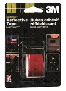3M - 03459 - Scotchlite Reflective Tape 03459, 2 in x 36 in, Red