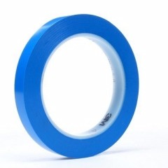 3M - 03786 - Vinyl Tape 471 Blue, 1 1/2 in x 36 yd 5.2 mil Bulk - 70006003415