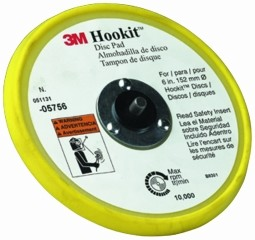 3M - 05756 - Hookit Low Profile Disc Pad, 6 inch