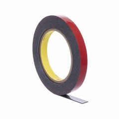 3M - 06388 - Automotive Acrylic Plus Premium Attachment Tape, Black, 1.12 mm, 1/2 in x 20 yd - 75347085898