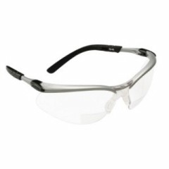 3M - 11375 - 11375-00000-20 BX Reader Protective Eyewear, Clear Lens, Silver Frame, +2.0 Diopter - 70071539574