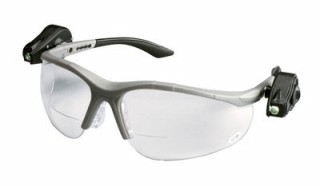 3M - 11478 - Light Vision 2 Protective Eyewear 11478-00000-10 Clear Anti-Fog Lens,, Gray Frame, +2.0 Diopt - 70071539988