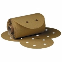 3M - 1625 - Stikit Gold Paper Dust Free Disc Roll, 5 inch, 150 grit, 01625