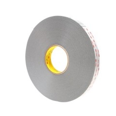 3M - 26195 - VHB Tape 4941F Gray Small Pack, 1 in x 36 yd 45.0 mil - 70006196524