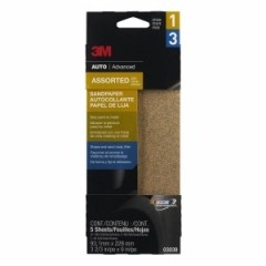 3M - 3039 - Sandpaper, Assorted grits, 03039