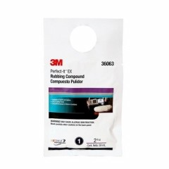 3M - 36063 - 3M Perfect-It EX Rubbing Compound, 2 oz. Packet Tan