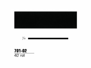 3M - 70102 - Scotchcal Striping Tape, 1/16 inch, Black, 70102