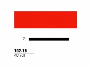 3M - 70276 - Scotchcal Striping Tape, 1/8 inch, Tomato Red, 70276