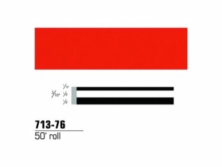 3M - 71376 - Scotchcal Striping Tape, 5/16 inch, Tomato Red, 71376