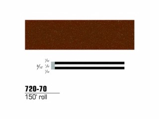 3M - 72070 - Scotchcal Striping Tape Brown Metallic, 3/16 in x 150 ft - 75346651575