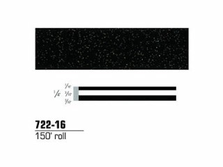 3M - 72216 - Scotchcal Striping Tape, Black Stardust, 1/4 in x 150 ft - 75346839774
