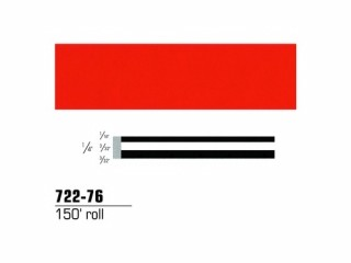 3M - 72276 - Scotchcal Striping Tape Tomato Red, 1/4 in x 150 ft - 75346019229