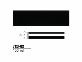 3M - 72302 - Scotchcal Striping Tape, 5/16 inch, Black, 72302