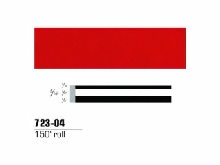 3M - 72304 - Scotchcal Striping Tape, 5/16 inch, Red, 72304