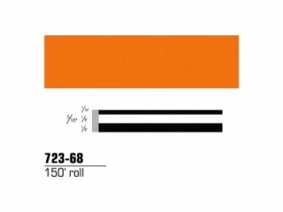 3M - 72368 - Scotchcal Striping Tape Bright Orange, 5/16 in x 150 ft - 75345568051
