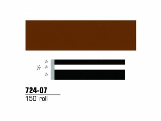 3M - 72407 - Scotchcal Striping Tape, 1/2 inch, Brown, 72407